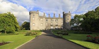 Kilkenny Castle. Historic landmark in the town of Kilkenny in Ireland Stock Image