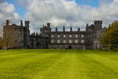 Kilkenny Castle, Ireland. This is Kilkenny Castle located in Kilkenny, Ireland. This photo was taken during a family trip in April 2015 Royalty Free Stock Photography