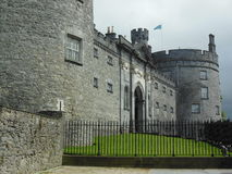 Kilkenny Castle in Ireland. Kilkenny Castle in Kilkenny, Ireland with a stormy sky Royalty Free Stock Images
