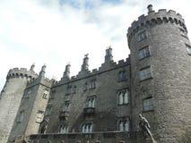 Kilkenny Castle in Ireland. Kilkenny Castle in Kilkenny, Ireland with a stormy sky stock image