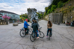 Kilkenny cycling tour Stock Images