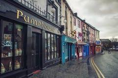 Kilkenny gata Royaltyfri Fotografi