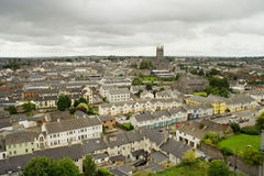 Kilkenny in Ireland. City of Kilkenny in Ireland, view from above Royalty Free Stock Photo