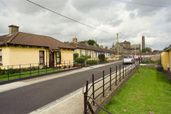 Kilkenny in Ireland. Tranquil street scene with residential houses in Kilkenny, Ireland Royalty Free Stock Photo