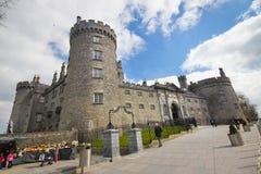 KilKenny slott Irland Arkivbilder