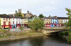 Kilkenny on the River Nore Stock Images