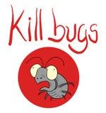 Kill bugs icon Royalty Free Stock Photography