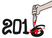 Kill 2016. Creative design of kill 2016 illustration Royalty Free Stock Photos