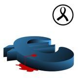 Kill euro Stock Image