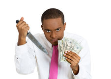 Kill for money Royalty Free Stock Images