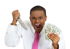 Kill for money Royalty Free Stock Photo
