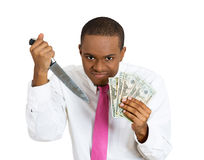 Kill for money Royalty Free Stock Image