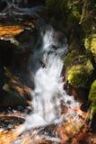 Scenic Rapids in Kill Pecker Creek, in the Laramie Mountains of Northern Colorado. Kill Pecker Creek. Scenic landscape of the Northern Colorado Laramie Mountains stock image
