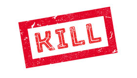 Kill rubber stamp Royalty Free Stock Photography