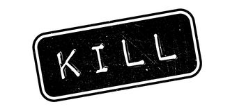 Kill rubber stamp Stock Image