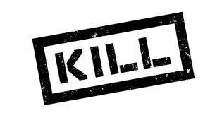 Kill rubber stamp Royalty Free Stock Images