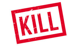 Kill rubber stamp Royalty Free Stock Image