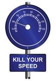 Kill speed Stock Photography