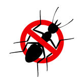 Kill Termite Sign Royalty Free Stock Images