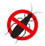 Kill Totengraber Insect Sign Stock Images