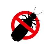 Kill Winged Termites Sign. Vector Illustration Stock Photos