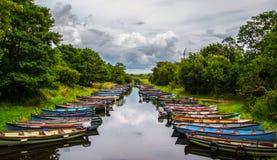 Killarney boats Stock Photos
