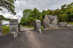 Killarney, Ireland, the historic entrance to the National Park Stock Image