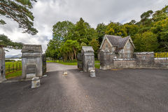 Killarney, Ireland, the historic gate entrance to the national park Royalty Free Stock Photos