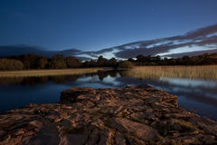 killarney lake at twilight Stock Photo