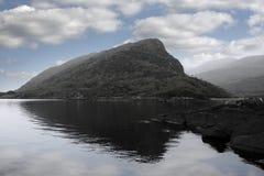 Killarney lakes on cloudy day Royalty Free Stock Photo