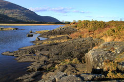 Killarney mountains. Killarney lake and mountains - Co. Kerry - Ireland Stock Photos