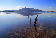 Killarney National Park. Killarney lake and mountains - Co. Kerry - Ireland Stock Photos