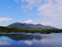 Killarney National Park. A view of lakes and mountains in Killarney National Park, Ireland Royalty Free Stock Photos
