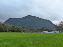 Killarney National Park County Kerry Ireland. With green grass and mountains Stock Image
