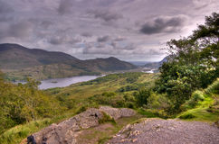 Killarney National Park from Ladys View. County Kerry, Ireland Stock Image