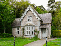 Killarney National Park. Lovely cottage in new tudor style near an entrance of the area of park Stock Photo