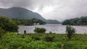 Killarney nationalpark sjö royaltyfri bild