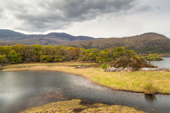 Killarney scenery with mountains and lake Royalty Free Stock Photos
