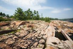 Killary in Georgian Bay, Ontario stock image