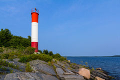 Killbear Lighthouse in Ontario Royalty Free Stock Photography