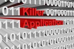 Killer application Stock Image