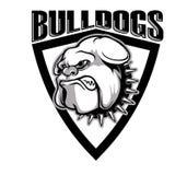 Killer bulldogs Stock Images