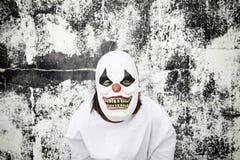 Killer clown Stockfotografie