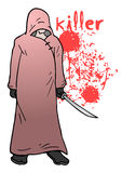 Killer illustration Stock Photos