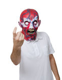 Killer with a mask Royalty Free Stock Photo