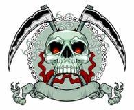 Killer skull Royalty Free Stock Photography