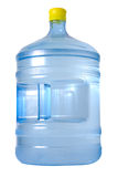 Killer Thirst. Huge bottle with water isolated over white background Stock Images