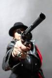 Killer woman Stock Photography