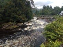 Killin, Шотландия стоковое фото