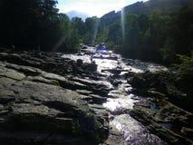 Killin waterfall Stock Photo